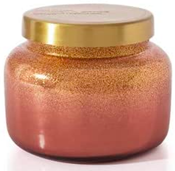 Tinsel & Spice Glittered Ombre Candle
