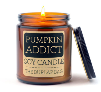 Pumpkin Addict Candle